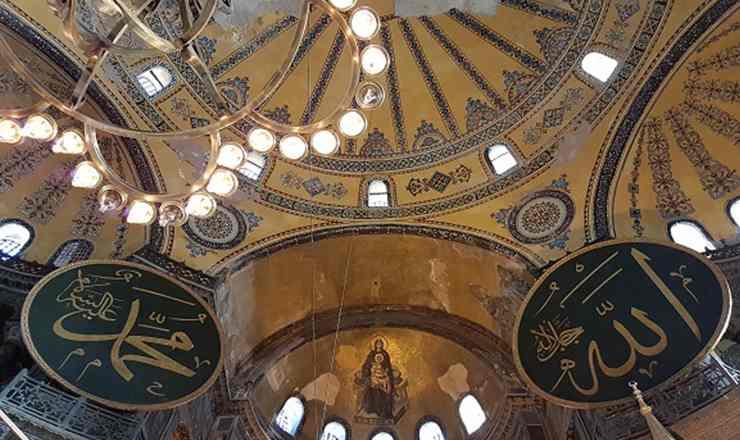 อิสตันบูล เที่ยวสุขสันต์ สนุกด้วยกันใน ประเทศตุรกี ตอน 4 ฮาเกียโซเฟีย ภาค 2 ความงามภายใน และภาพโมเสกล้ำค่า