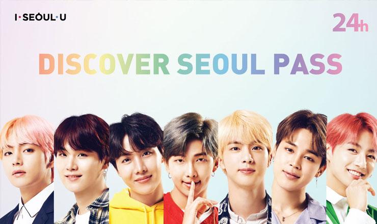 บัตร Discover Seoul Pass (มีบัตรลาย BTS Edition)