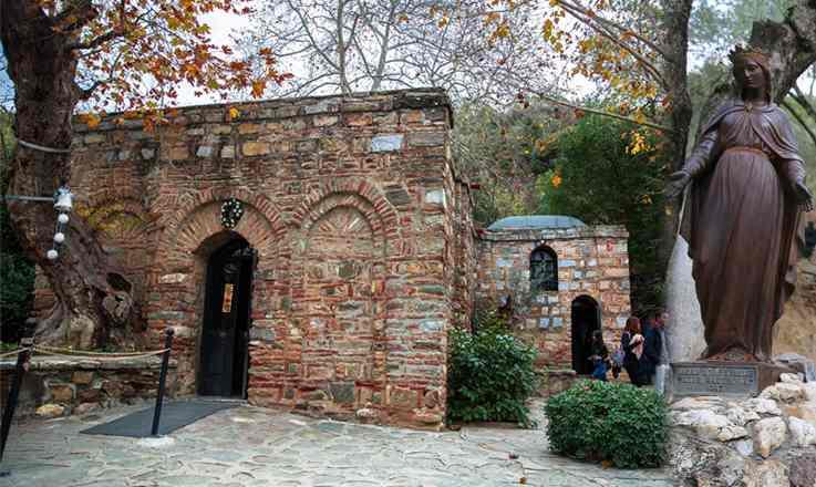 บ้านพระแม่มารี ณ เมืองเอเฟซุส ตุรกี สถานที่สำคัญของชาวคริสเตียน และชาวมุสลิม