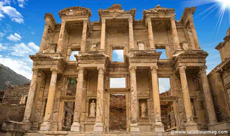 เจาะเวลาหาอดีต ณ ดินแดนโบราณ เอเฟซุส Ephesus ประเทศตุรกี ตอนที่ 1 ก้าวเท้าเข้าเมืองกรีก-โรมัน