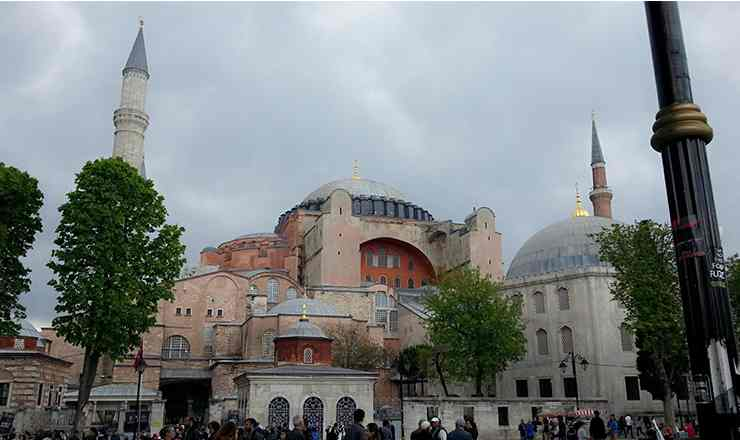 อิสตันบูล เที่ยวสุขสันต์ สนุกด้วยกันใน ประเทศตุรกี ตอน 4 ฮาเกียโซเฟีย ภาค 1 เรื่องราวเม้าประวัติศาสตร์
